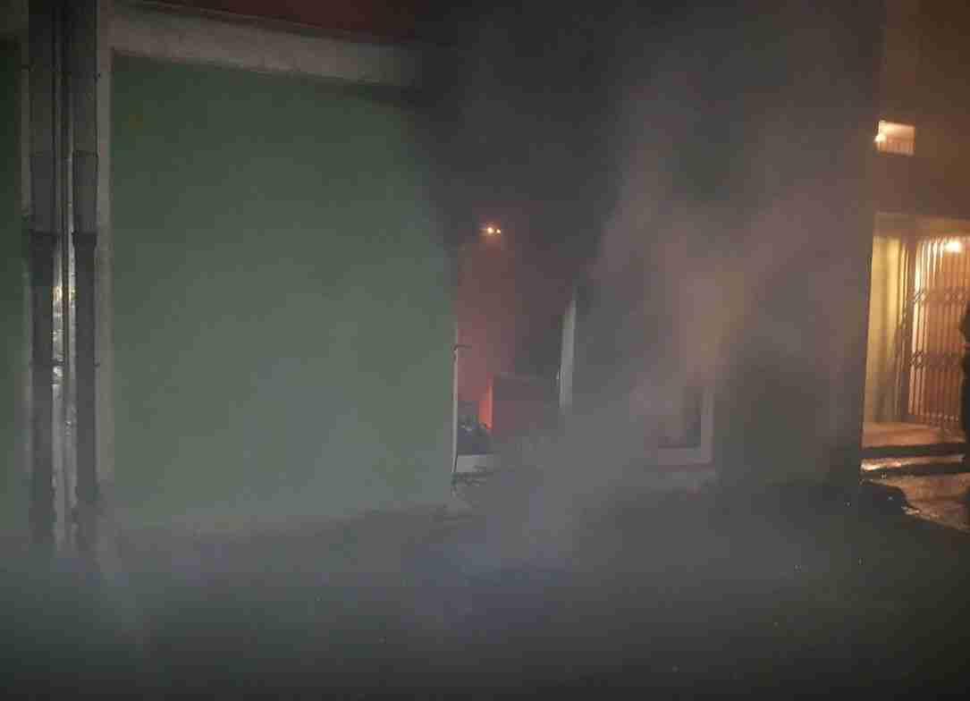 novi travnik sinoć zapaljena ordinacija dr džambasa tntportal drago dzambas pozar1