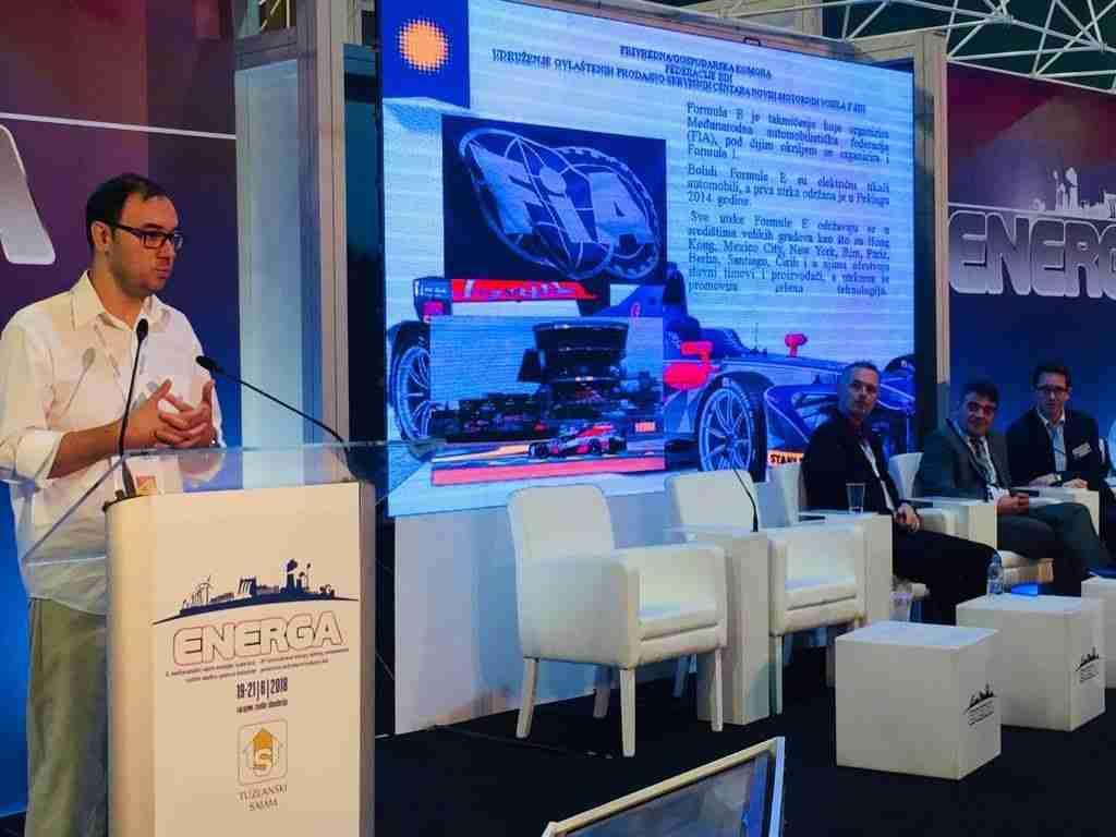 Izlaganje o Formuli E na sajmu Energa: Prilika da Sarajevo postane tehnološki centar regije