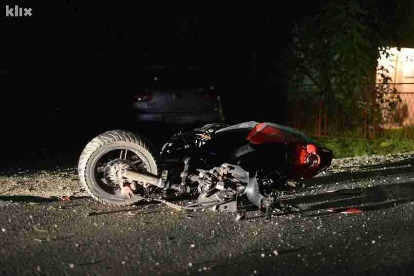 krvav dan na bh cestama/ u bosanskoj dubici poginuo motociklista!