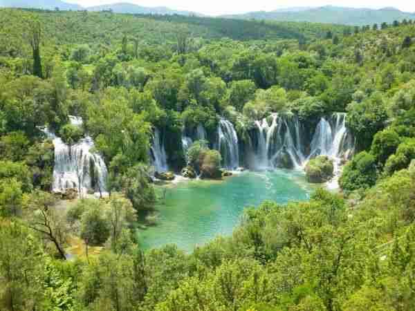 veliko prizanje/ vodopad 'kravice' među dvadeset najljepših mjesta u europi!