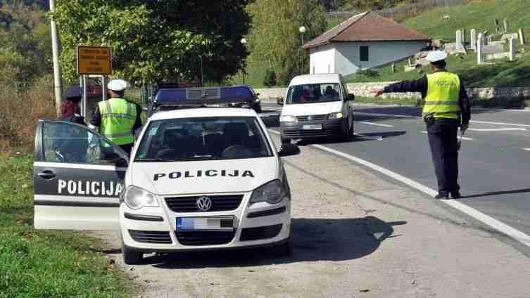 vozači oprez: radarske kontrole na više lokacija u travniku
