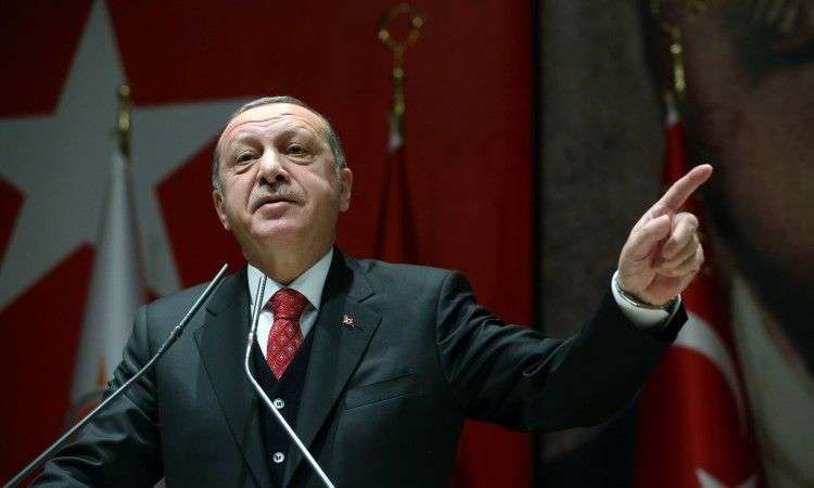 erdogan: turska neće smanjiti broj vojnika u sjevernom kipru