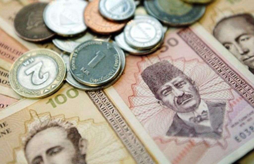Prosjek plaća u javnom 1250, a u realnom sektoru 550 KM