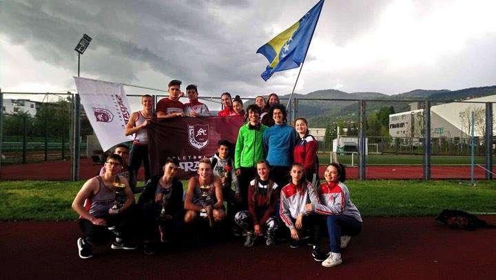 Mlađi juniori i juniorke AK Sarajevo ekipni prvaci BiH u atletici