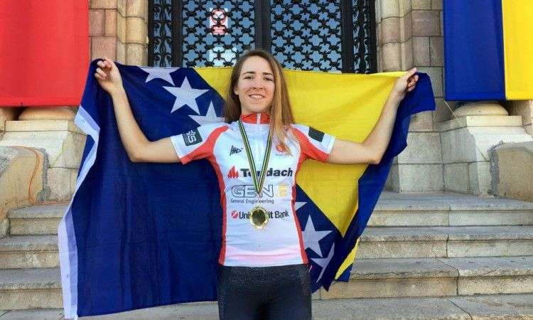 Lejla Tanović osvojila drugo mjesto na UCI C1 utrci u Hrvatskoj
