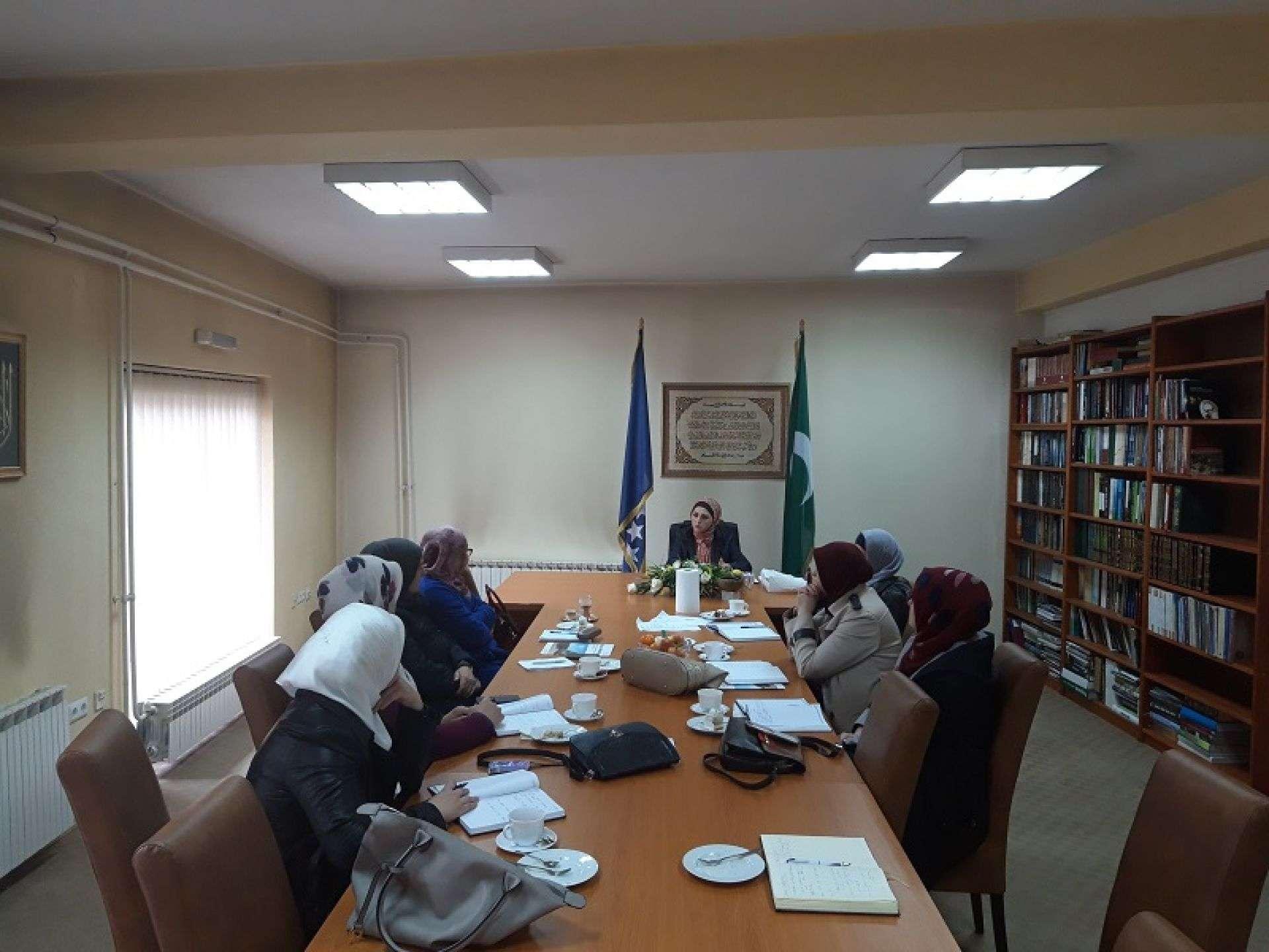 Predramazanski sastanak koordinatorica za ženski aktivizam pri medžlisima Muftijstva travničkog