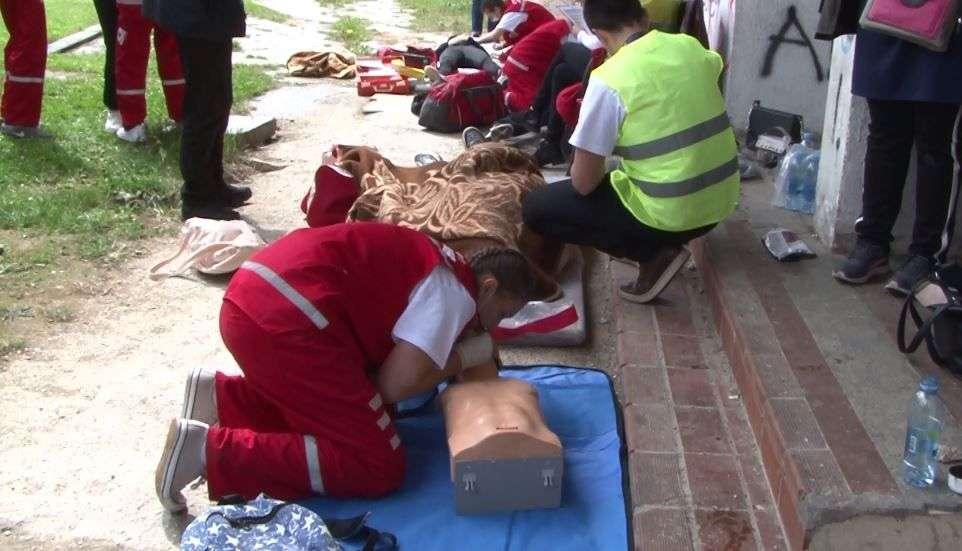(FOTO) Novi Travnik: Održano kantonalno takmičenje iz pružanja prve pomoći