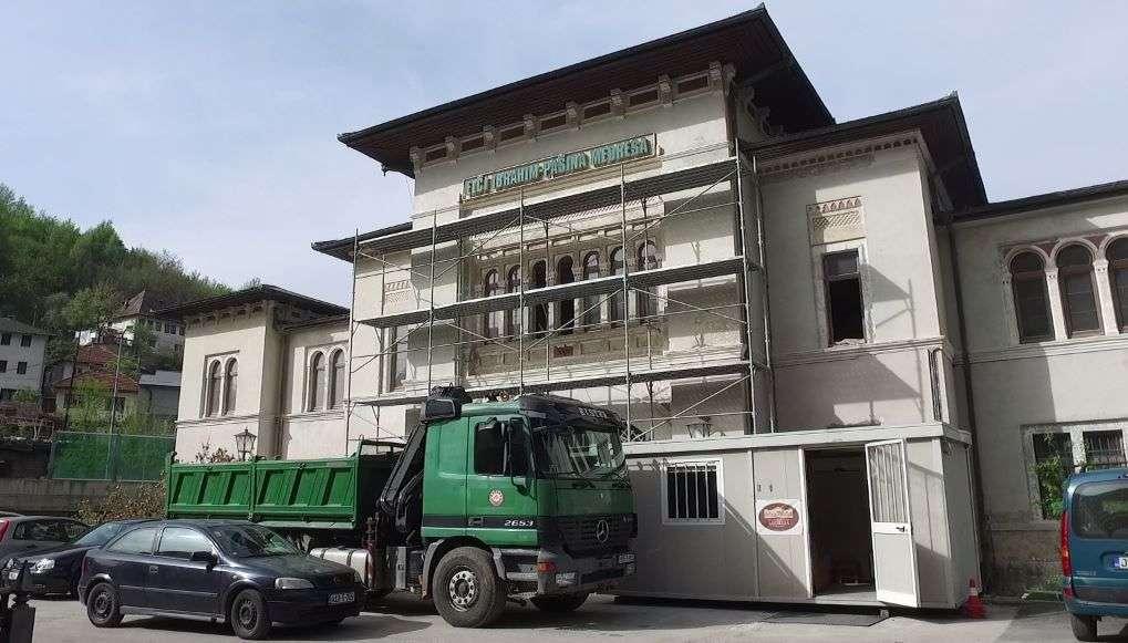 (VIDEO) U toku obnova Elči Ibrahim-pašine medrese u Travniku