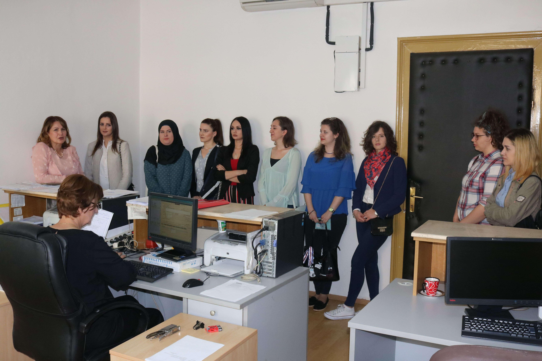 (FOTO) Studenti Pravnog fakulteta Travnik posjetili Općinski sud u Travniku
