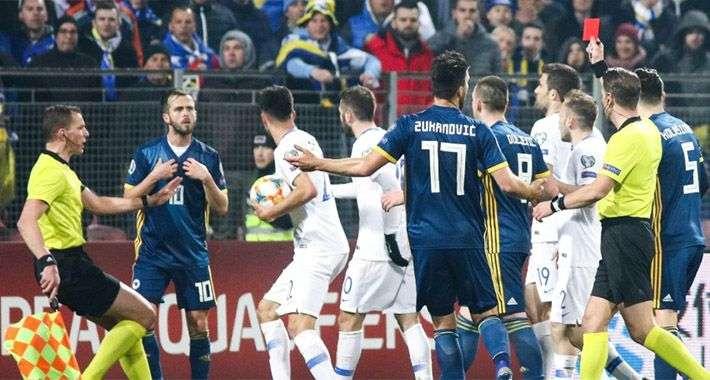 Nakon teške kazne Pjaniću, Ljubojević: Žalit ćemo se UEFA-i, nije imao namjeru da faulira Grka