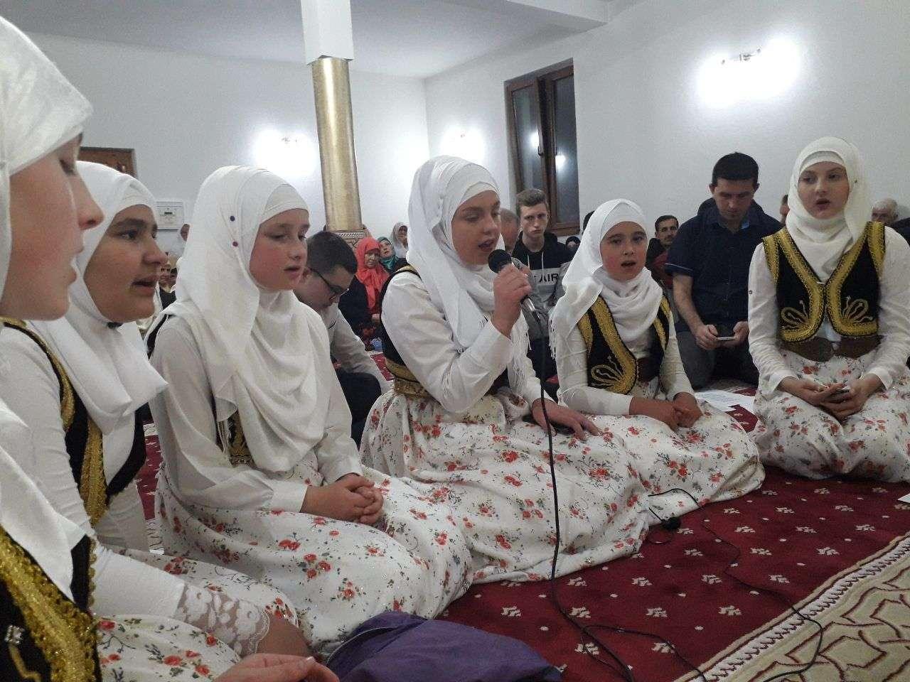 tradicionalni mevludski program u džematu karaula za 15. noć mjeseca ramazana