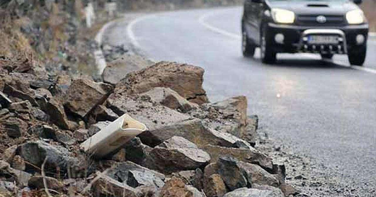 Mogući odroni kamenja na dionicama cesta koje prolaze usjecima