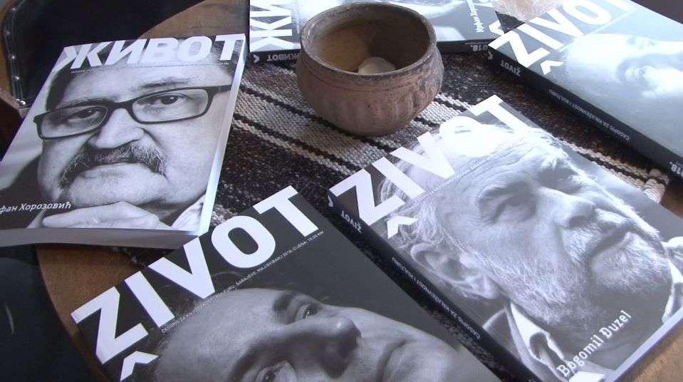 "(foto/video) upriličena promocija novih brojeva časopisa za književnost i kulturu ""život"""