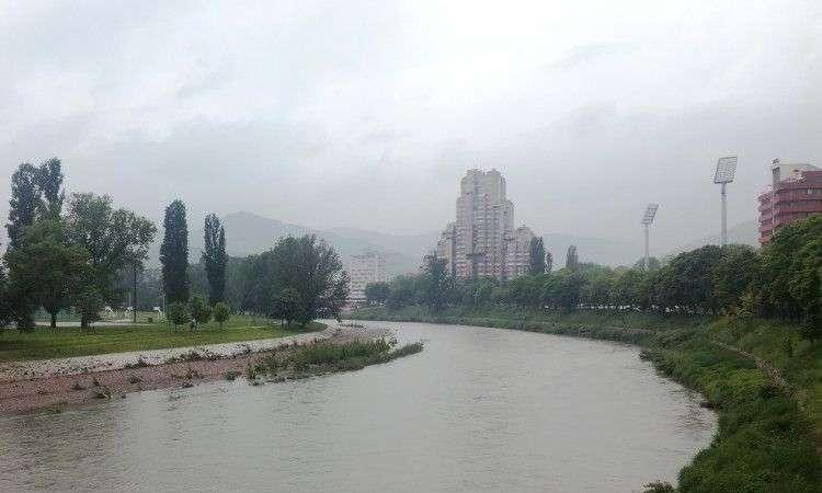 Za sada mirno, kišne padavine nisu značajno podigle nivo rijeka u ZDK-u