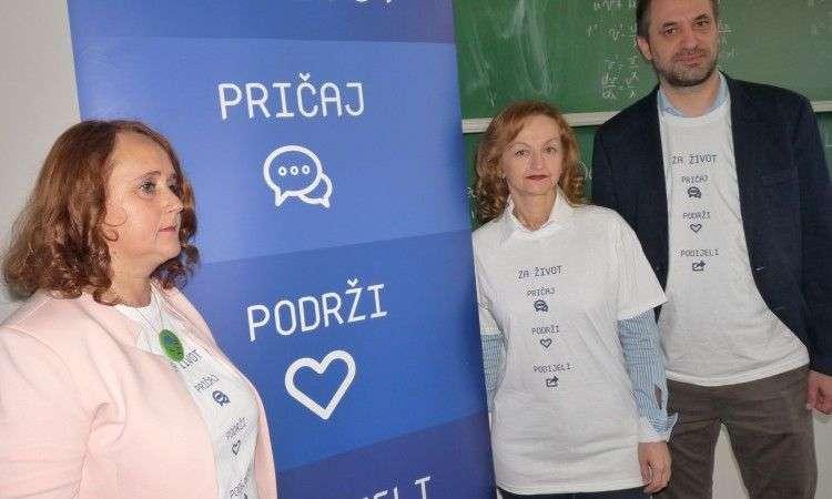 """zeničkim studentima prezentirana kampanja """"za život-pričaj, podrži, podijeli"""""""