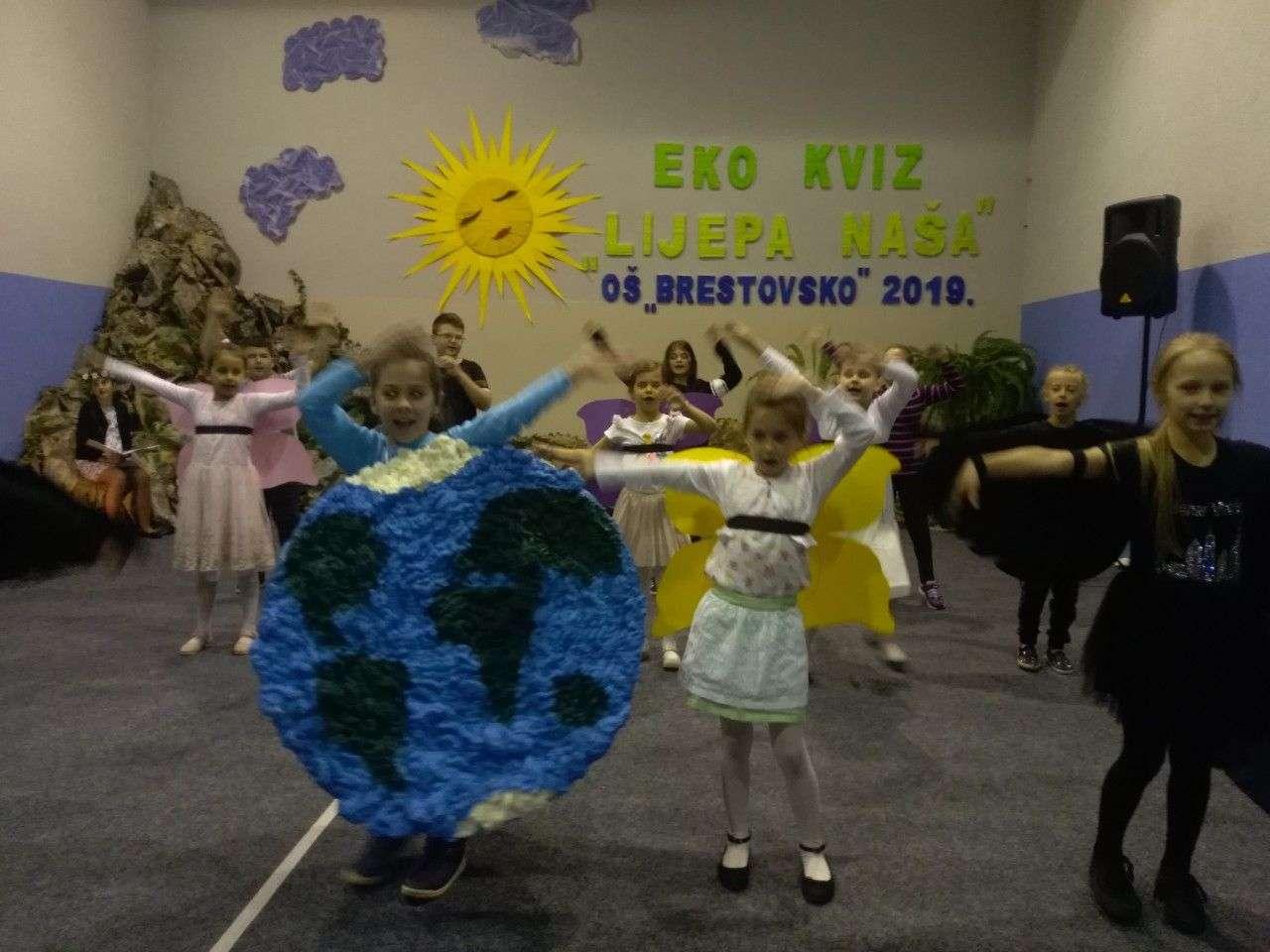 SBK: Ekološki kviz ''Lijepa naša'' 2019 - razredna nastava