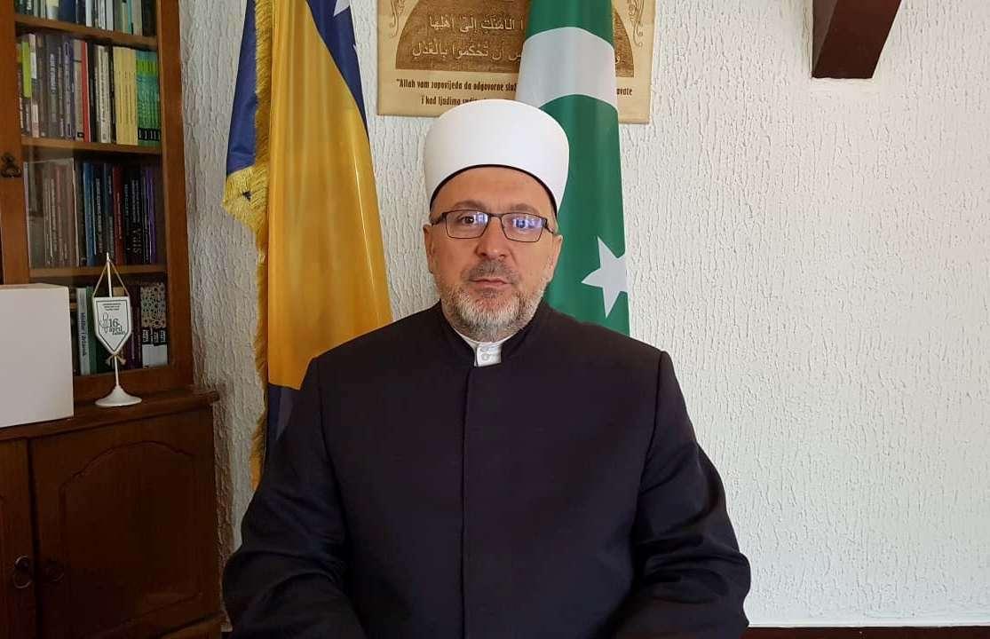 (VIDEO) Muftija travnički Ahmed ef. Adilović čestitao nastupajući mjesec ramazan