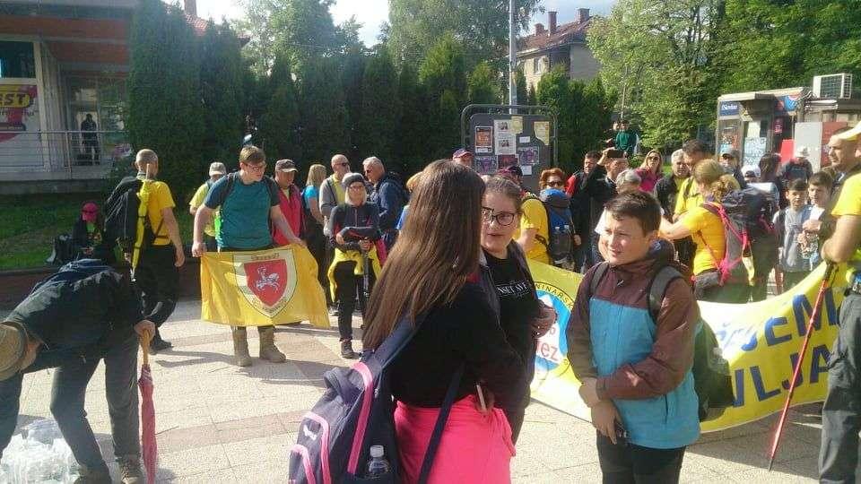 """(FOTO) Akcija """"Pješačenjem do zdravlja"""" i ove godine krenula iz Viteza"""