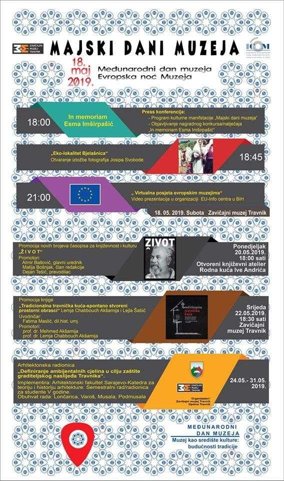 Međunarodni dan i Evropska noć muzeja: Svi u Zavičajni muzej Travnik!