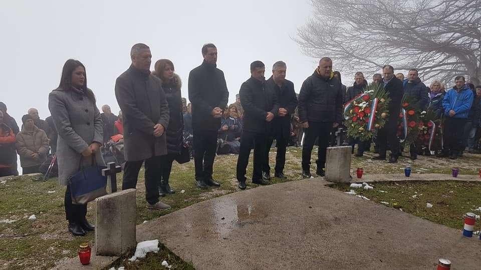 """Vlašić: Predsjednik FBiH Marinko Čavara na obilježavanju 27. obljetnice bitke za """"Galicu"""""""