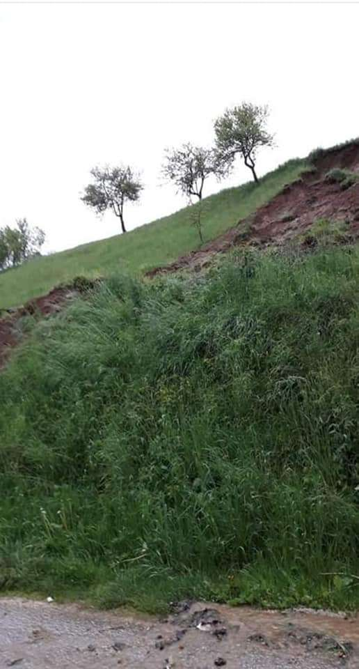 (FOTO/VIDEO) Kiše donijele prve probleme u Novom Travniku, pokrenulo se nekoliko klizišta