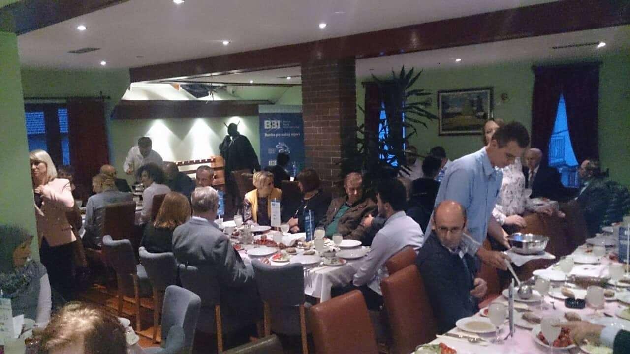 Bugojno: BBI banka organizovala iftar za uposlene i klijente (FOTO/VIDEO)