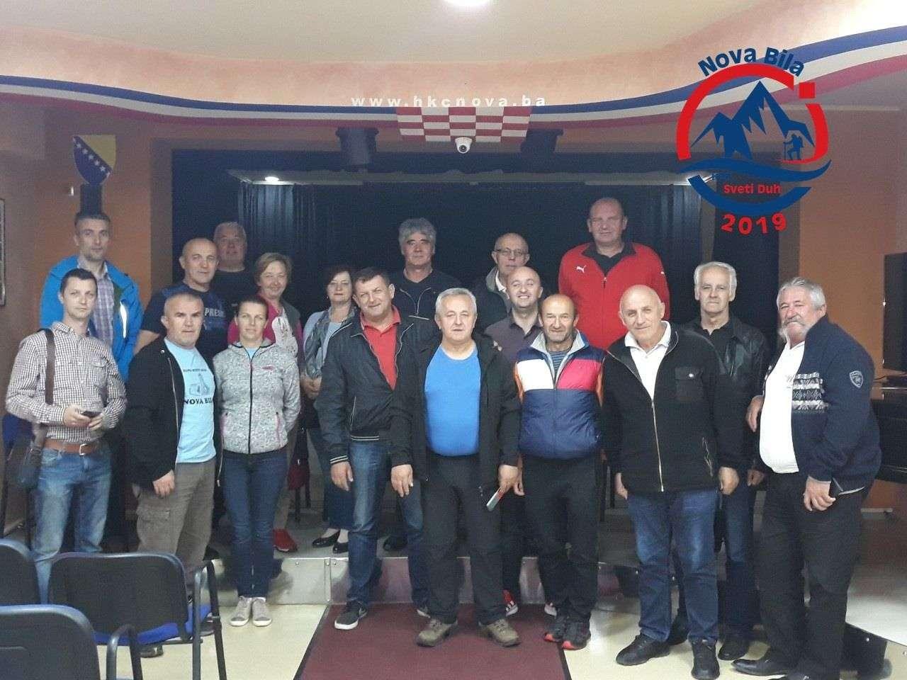 """osnovano hrvatsko planinarsko društvo """"sveti duh"""" nova bila"""