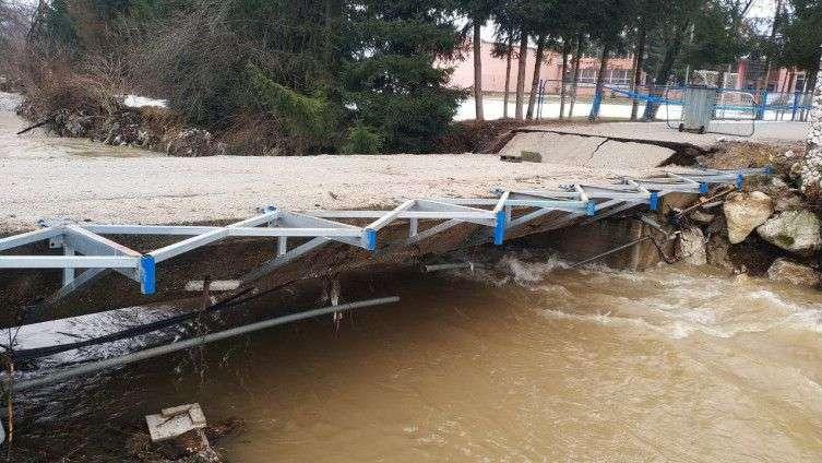 kolike su štete od poplava na području općine novi travnik?