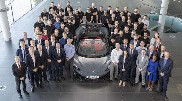 U McLarenu obilježili 20.000 proizvedenih automobila