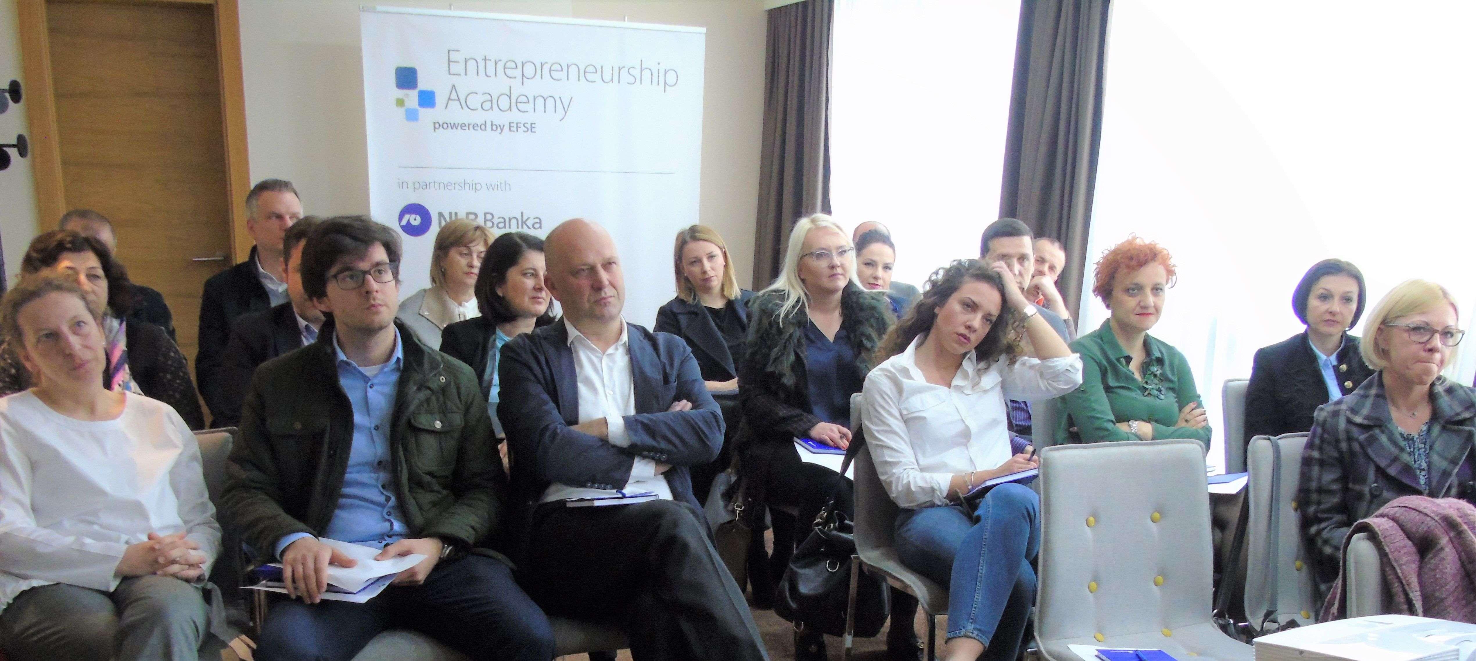 Akademija za poduzetnike NLB Banke oduševila učesnike: Održan prvi krug radionica u tri bh. grada