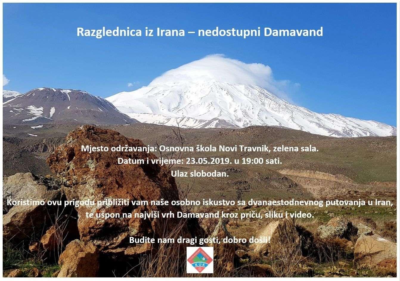 novi travnik: planinari iz središnje bosne donose iskustvo s putovanja u iran