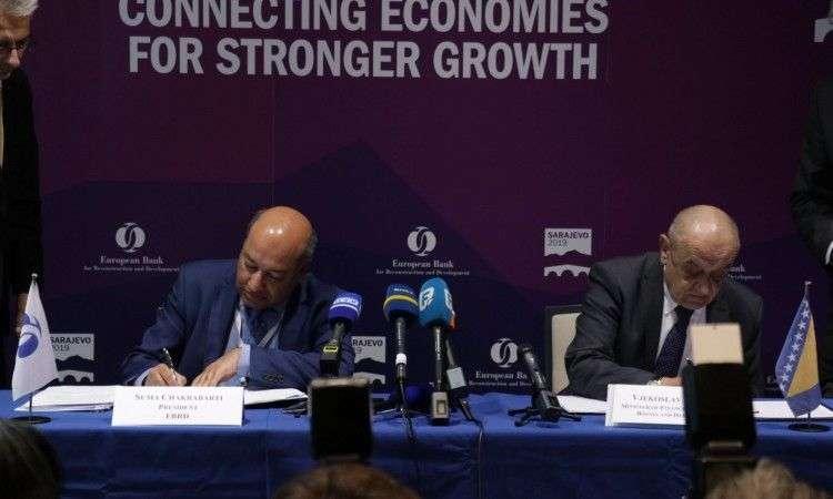 Za Koridor Vc 210 miliona eura: Potpisan Ugovor o zajmu između BiH i EBRD-a