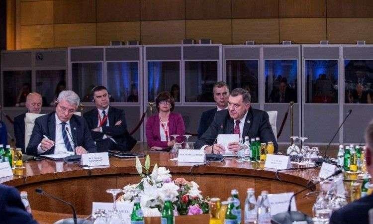 Dodik i Džaferović na sastanku lidera ponovili značaj evropskog puta BiH