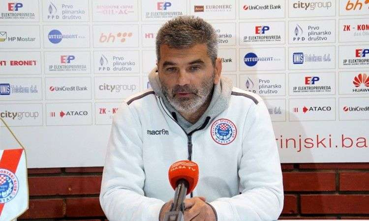 Slišković do kraja sezone želi osvojiti maksimalnih šest bodova
