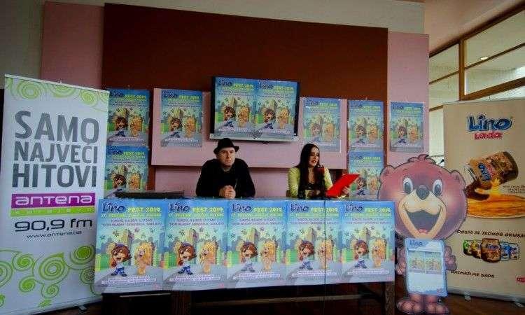 na festivalu dječje pjesme 'lino-fest 2019' izvođači iz bih i regije