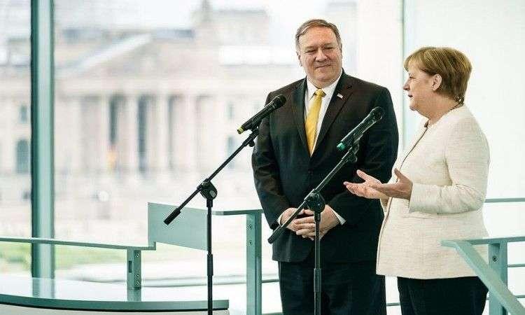 merkel: sjedinjene države ostaju najvažniji partner za njemačku izvan evrope