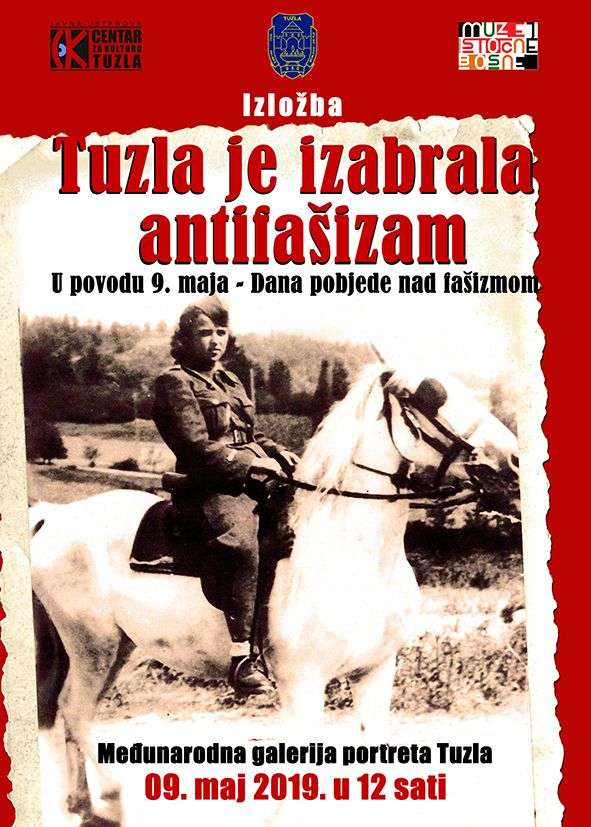 Izložba 'Tuzla je izabrala antifašizam' povodom 9.maja Dana pobjede nad fašizmom