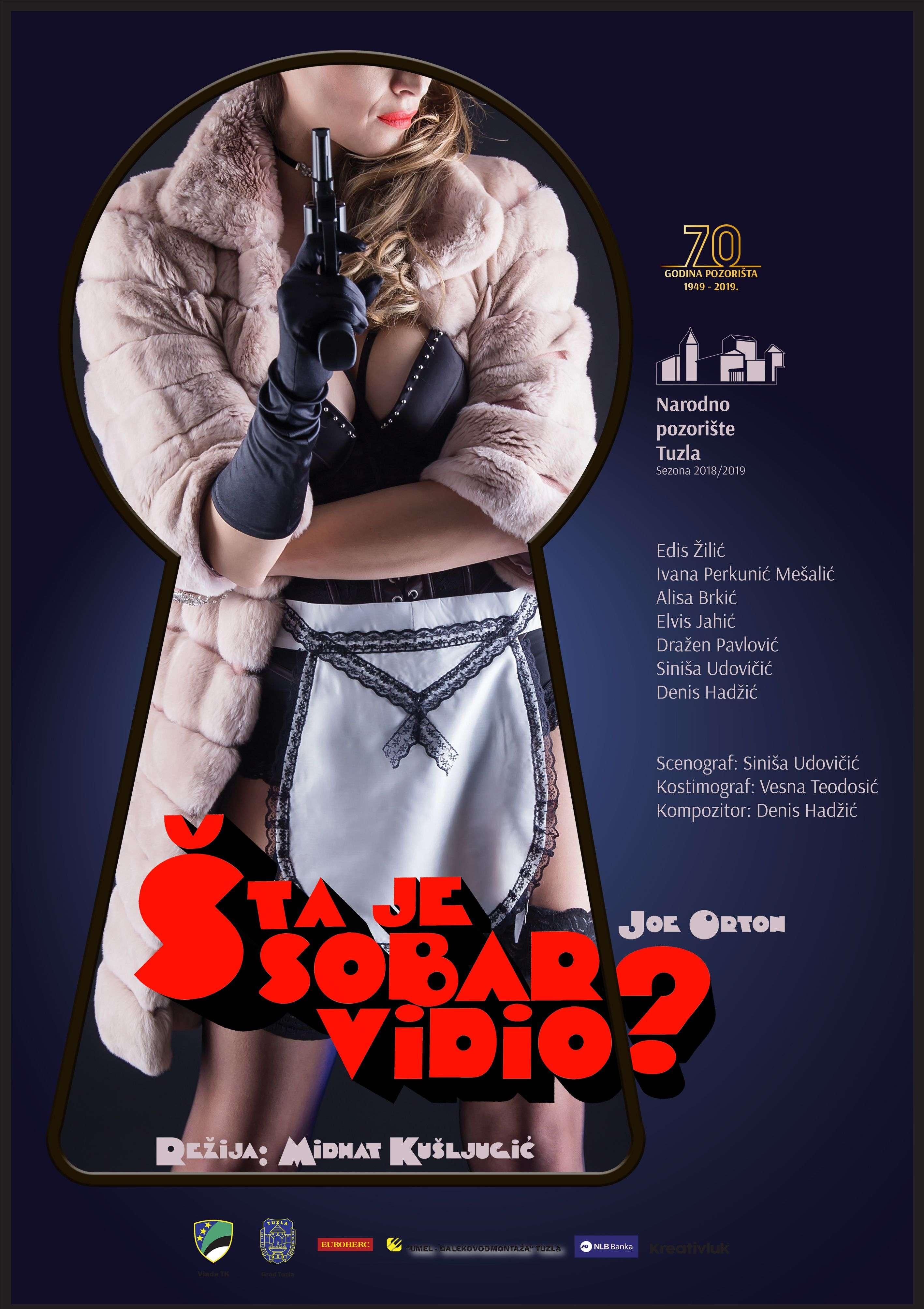 """Predstava """"Šta je sobar vidio""""? u Narodnom pozorištu u Tuzli"""