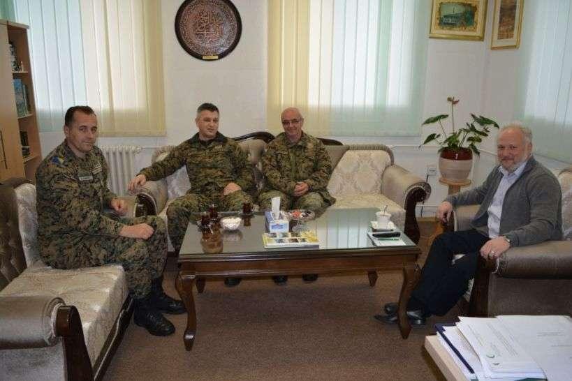 Predramazanska posjeta predstavnika Komande za obuku i doktrinu Oružanih snaga Bosne i Hercegovine