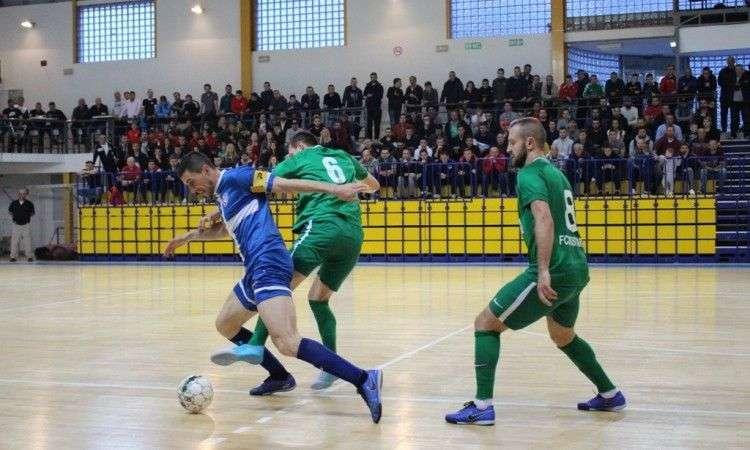 Mostar SG Staklorad poveo u finalu futsal prvenstva