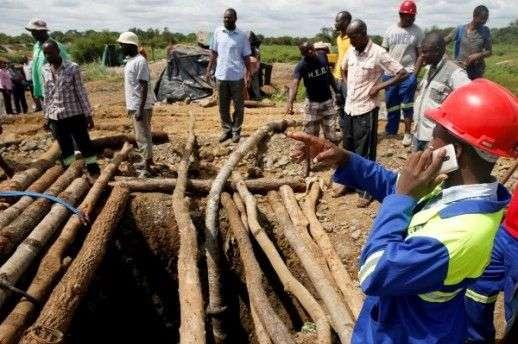 devet osoba poginulo u rudniku zlata u zimbabveu