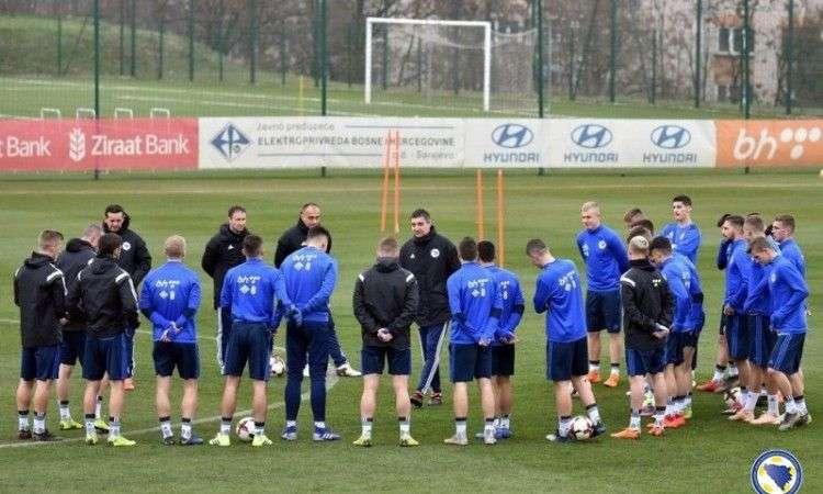 okupljanje mladih bh. nogometaša danas u zenici