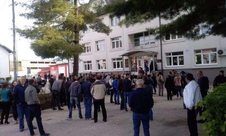 Radnici 'Vitezita' prosvjedovali u Vitezu