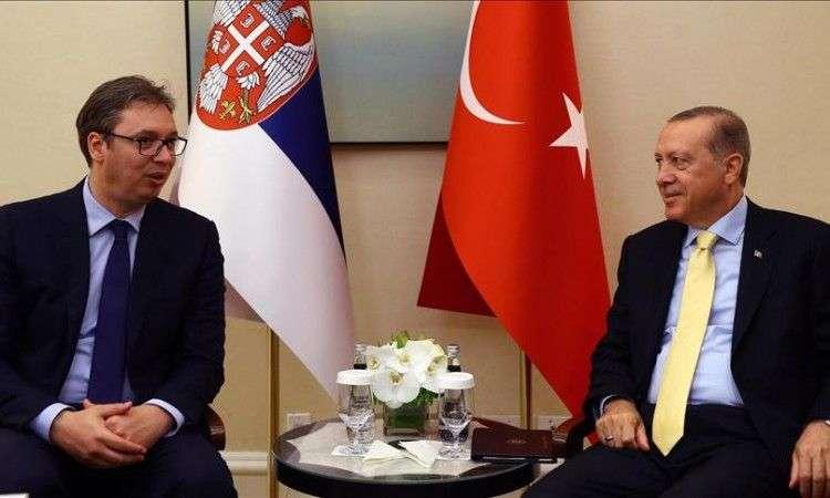 Vučić i Erdogan: Mir i stabilnost u regionu važni i za Evropu