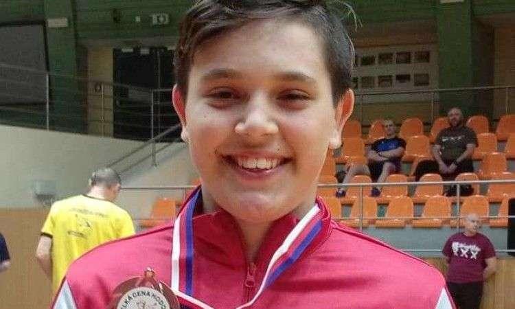affan smajić osvojio zlato na turniru u hrvatskoj