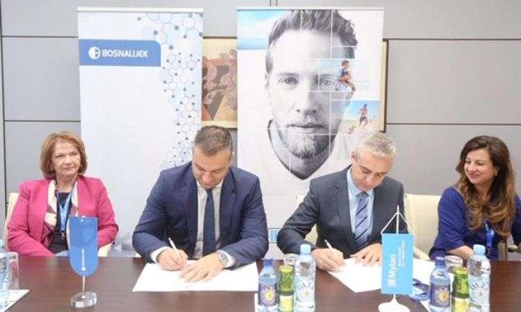 bosnalijek potpisao ugovor o saradnji s farmaceutskom kompanijom mylan