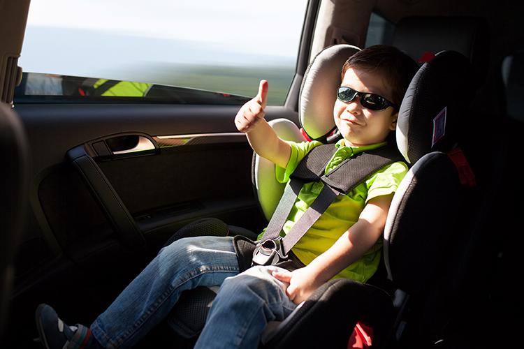 sve bolja upotreba sistema zaštite djece u vozilu