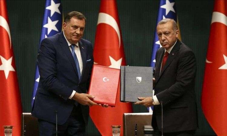 Erdogan nakon sastanka sa Dodikom: Stabilnost BiH izuzetno značajna za stabilnost cijele Europe