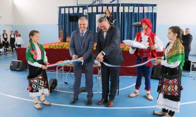 otvorena nova sportska dvorana u osnovnoj školi u donjem brišniku