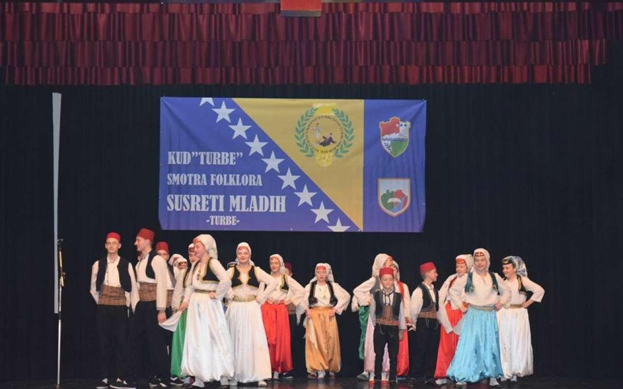 """kud """"turbe"""" organizuje smotru folklora """"susret mladih turbe 2019."""""""